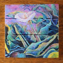 Calla Lilies art coasters/trivets